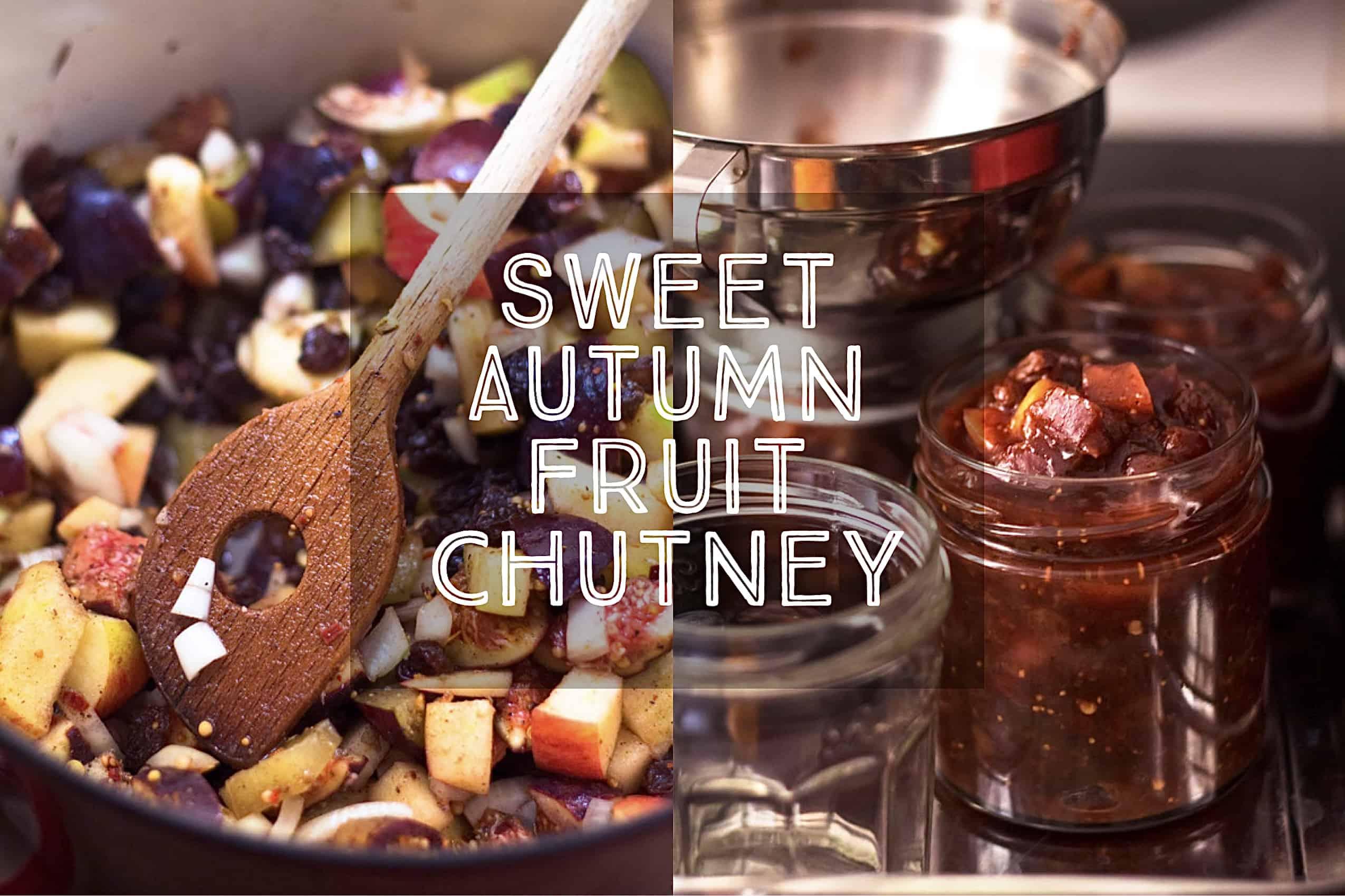 Sweet Autumn Fruit Chutney