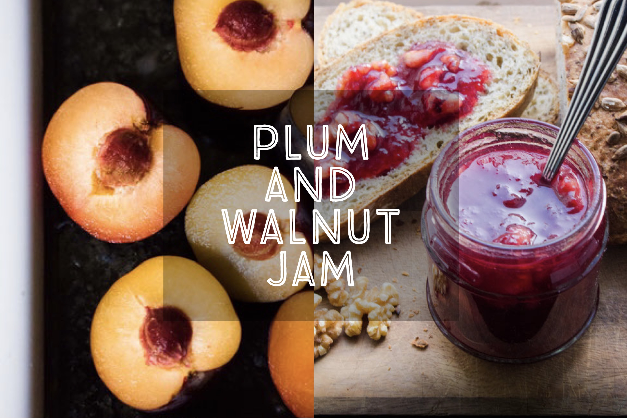 Plum and Walnut Jam