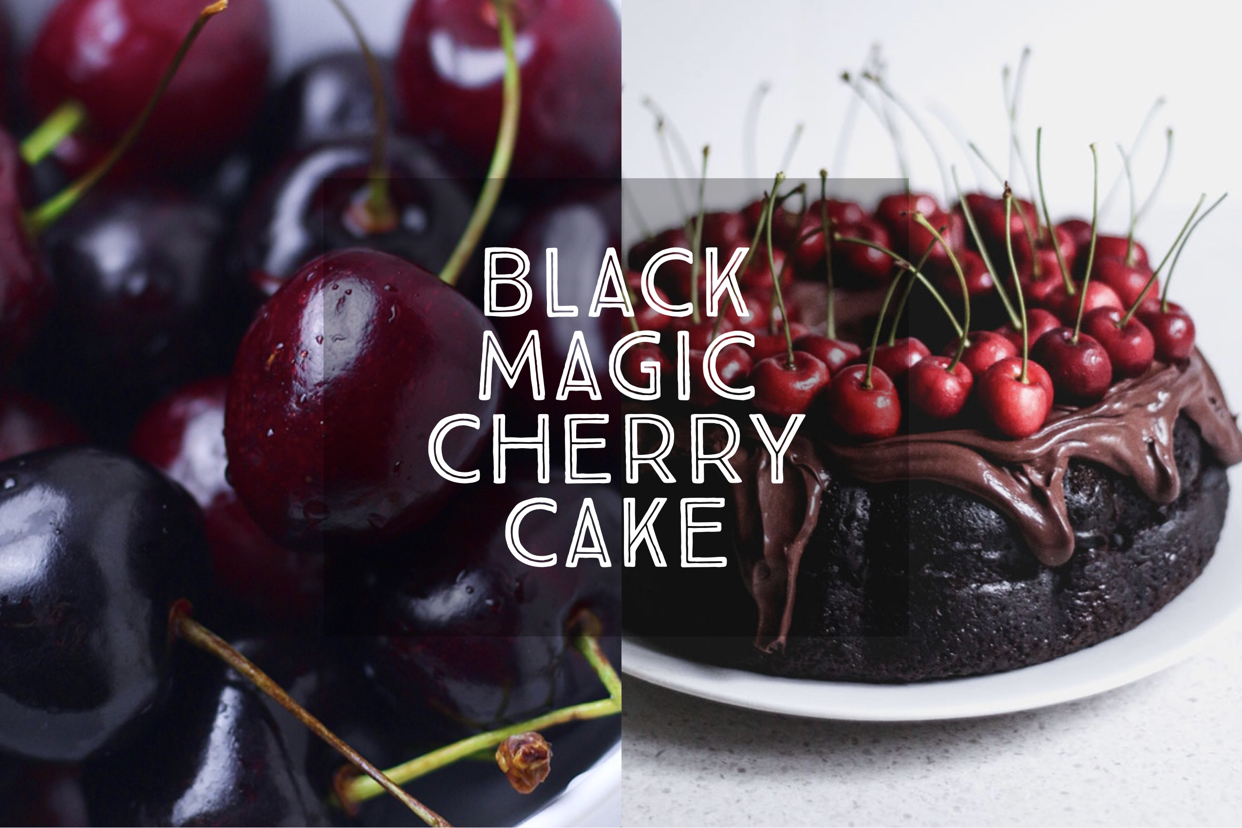 Black Magic Cherry Cake