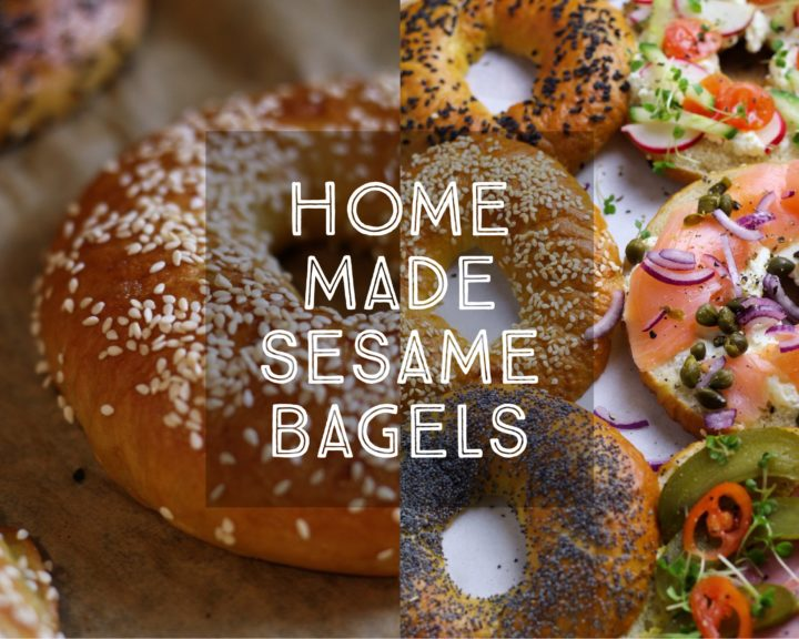 Homemade Sesame Bagels