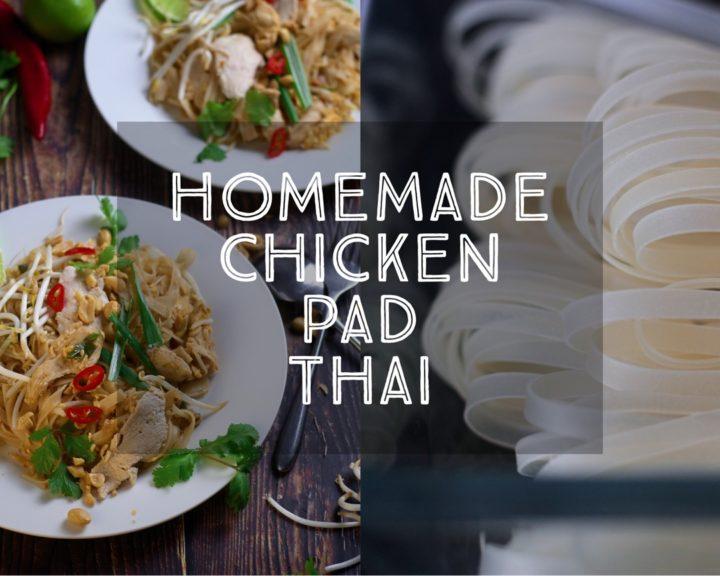 Homemade Chicken Pad Thai