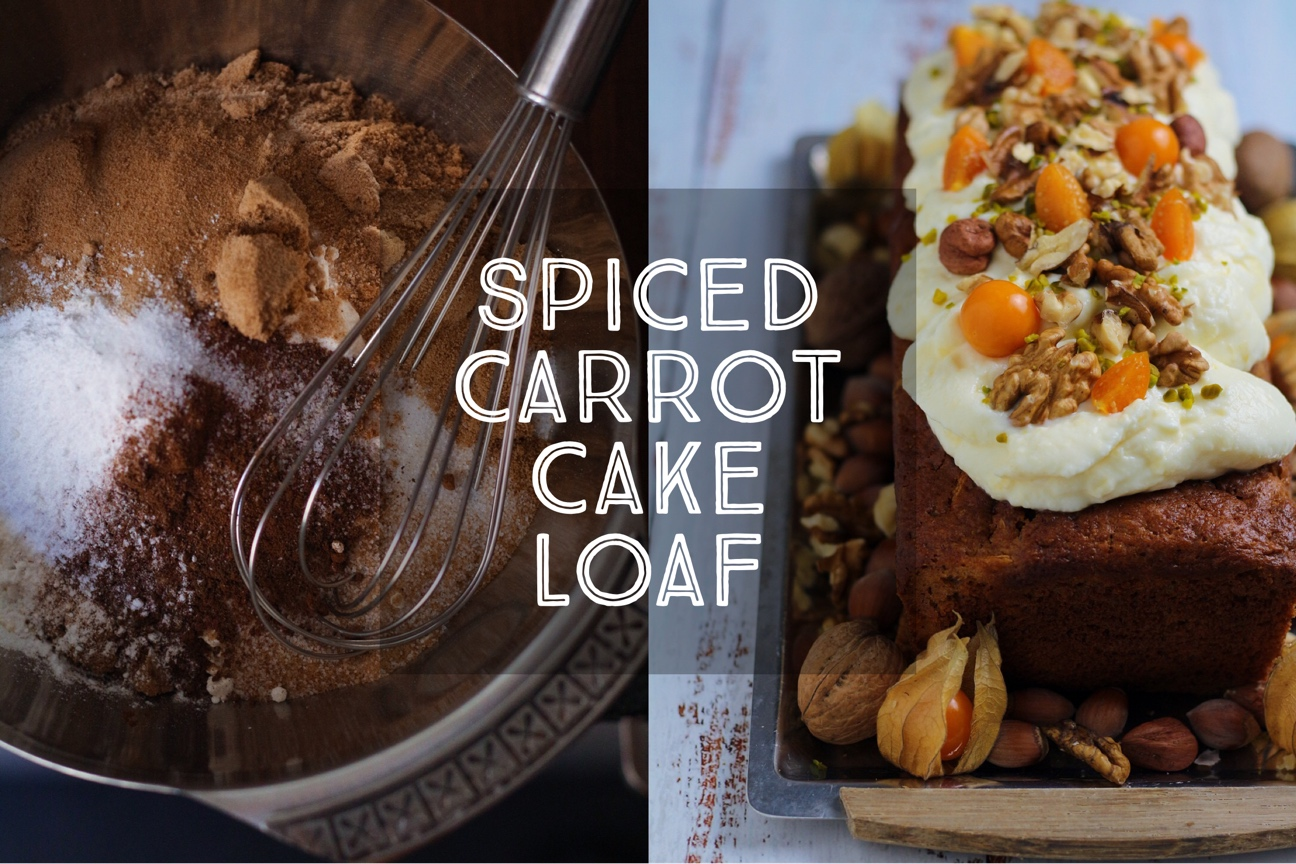 Spiced Carrot Cake Loaf