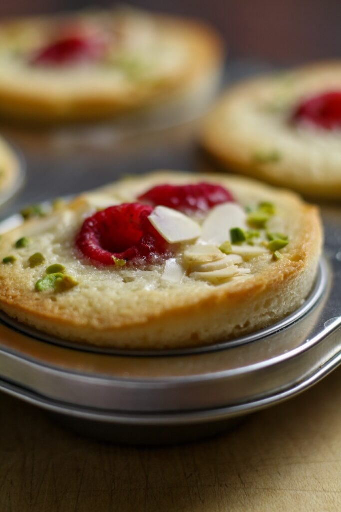 Friands in Tin