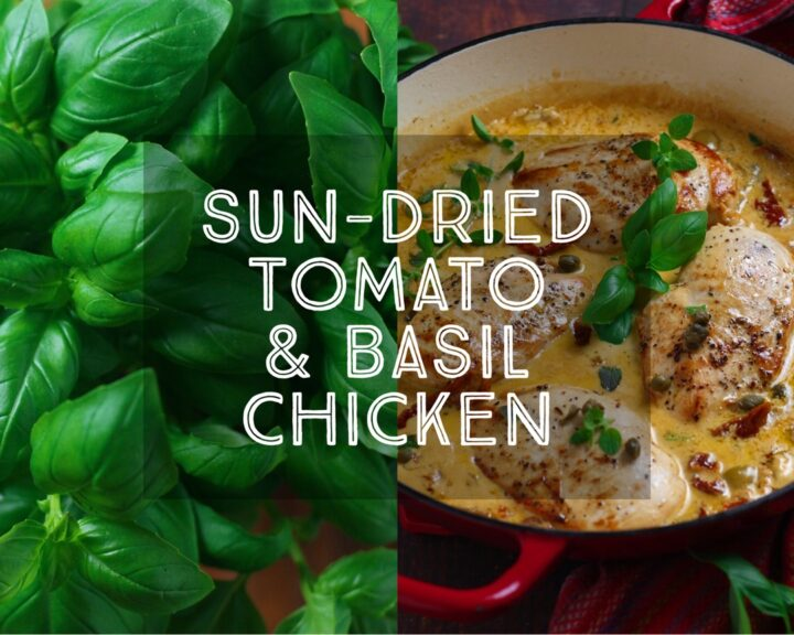 Sundried Tomato and Basil Chicken