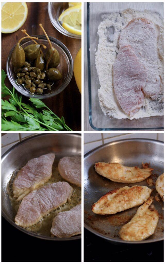 Lemon and Caper Chicken