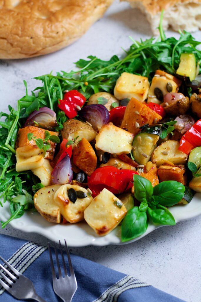 Summer Roast Vegetable Salad