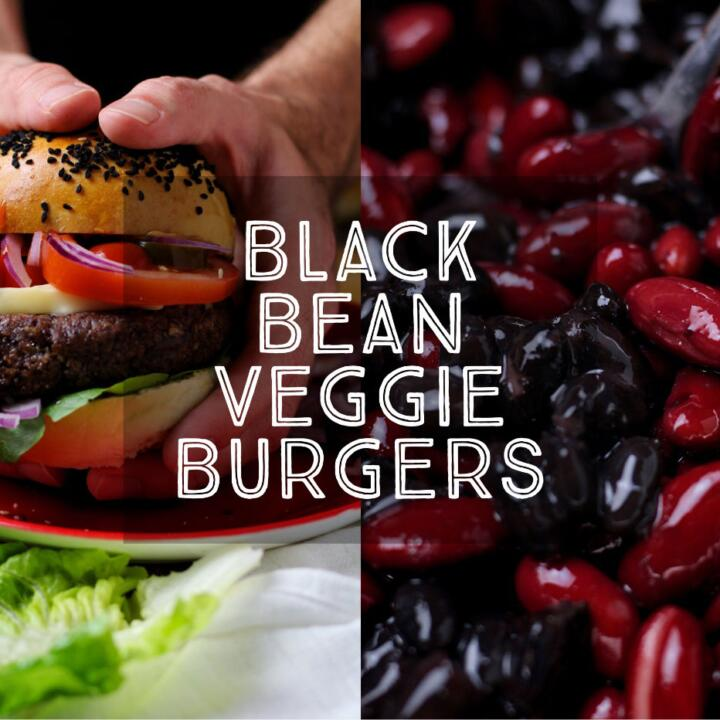 Rich, hearty and seriously tasty, Black Bean Veggie Burgers are so flavoursome and so good. Packed full of goodness with beans, oats, walnuts and sunflower seeds, these burgers are a real crowd-pleaser.