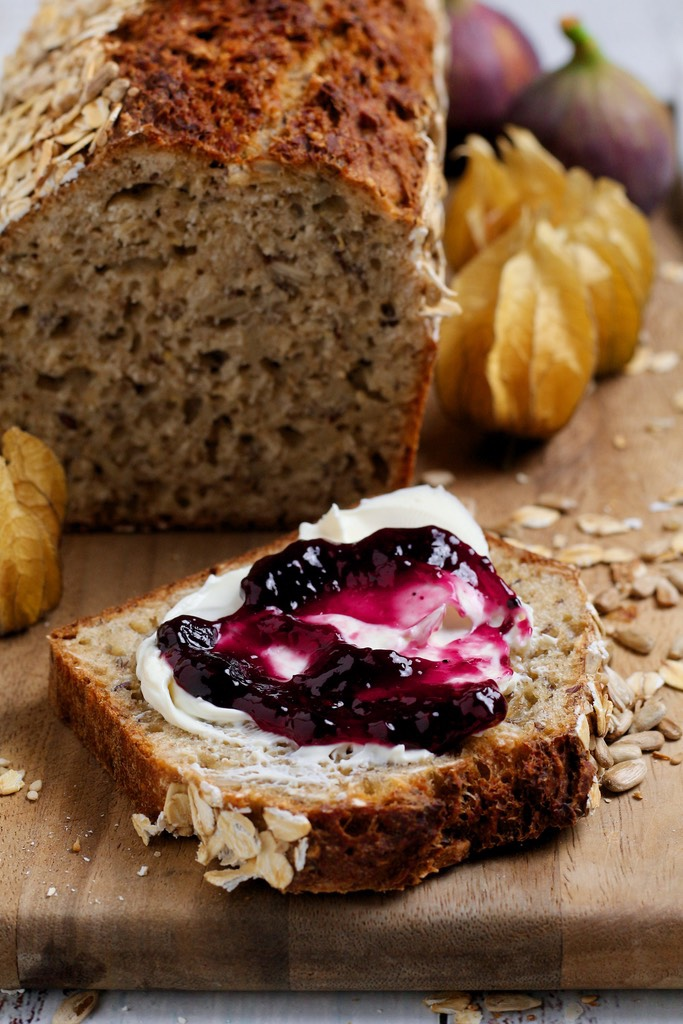 How to Make No Knead Multigrain Bread — Days of Jay